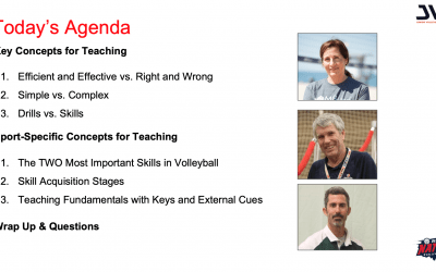 JVA Webinar: Teach the skills not the drills
